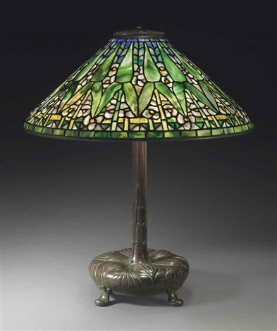 arrowroot table lamp by tiffany studios