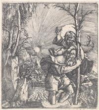 hl. christophorus by albrecht altdorfer