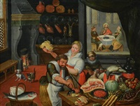 king's kitchen by pieter aertsen