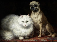 best of friends by henriette ronner-knip