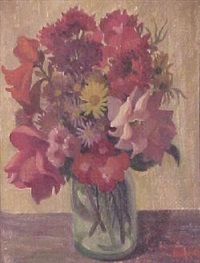 still life: mixed bunch by alison baily rehfisch