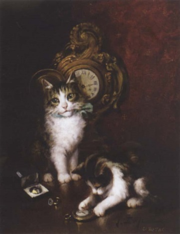 Le Tic Tac By Jules Gustave Le Roy On Artnet