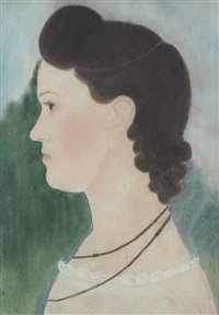 portrait of cornelia t. newell miller by ruth henshaw miles bascom