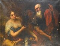 the banishment of hagar by giovanni andrea de ferrari