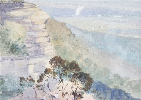 the blue mountains by theodore penleigh boyd