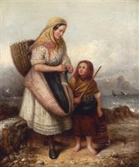 awaiting the boat's return by alexander leggatt