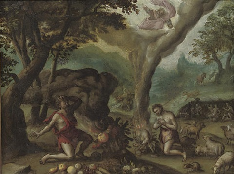 cain and abel by hispano flemish school 17