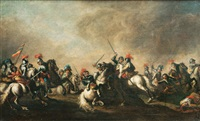 cavalry skirmish by jacques courtois