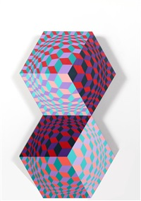 kettes by victor vasarely