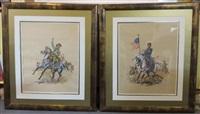 deux officiers de cavalerie, nordiste et sudiste pendant la guerre de sécession en amérique (1861-1865) (2 works) by eugene lelievre