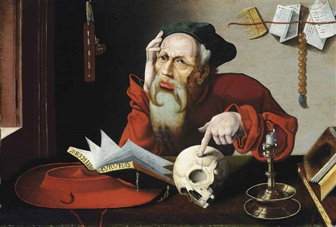 saint jerome in his study by joos van cleve