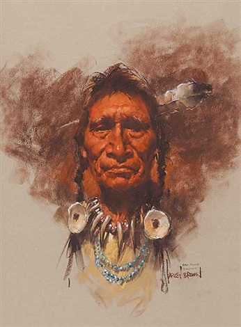 bull plume blackfoot by harley brown