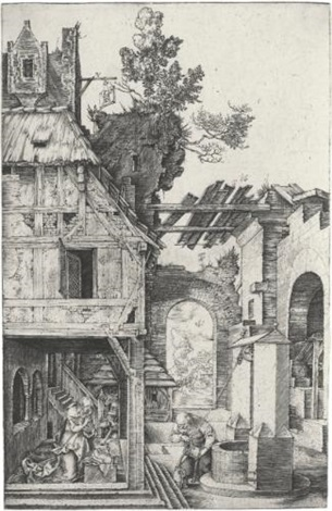 the nativity by albrecht dürer