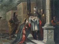 presentación de jesús niño en el templo by matías arteaga y alfaro