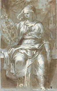 allégorie de la prudence by giuseppe (salviati) porta