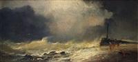 la tempête by willem roelofs