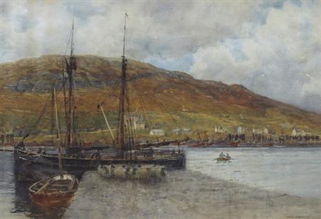 a busy harbour by robert weir allan