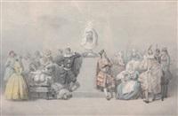 hommage à molière by claude olivier merson