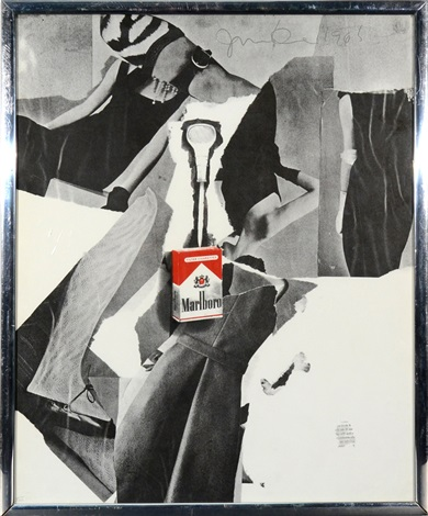 marlboro cigarette by jim dine
