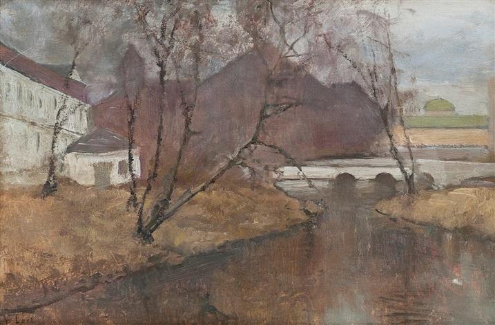 river landscape by vassilij filippovich levi