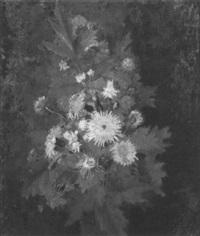 stilleben mit sommerblumenstrauß by david gustav böklin