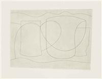 euboea (horizontal linear) by ben nicholson