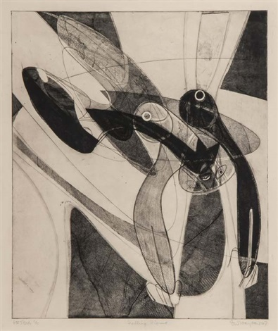 falling figure by stanley william hayter