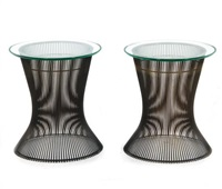 side tables (pair) by warren platner