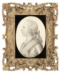 portrait of prince charles edward stuart, 'bonnie prince charlie' by giles hussey