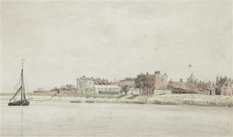 on the lower thames by john constable