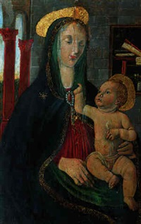 madonna mit kind by jacopo del sellaio