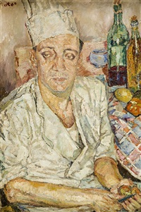 portret kucharza emile'a verdet by maria-mela muter