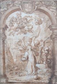 la vergine parigina (frontispiece) by orazio ferraro