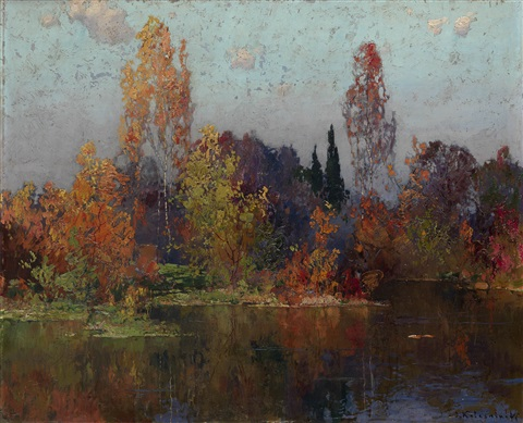 autumn by stepan feodorovich kolesnikov