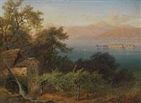 mühle am lago maggiore by franz reinhold
