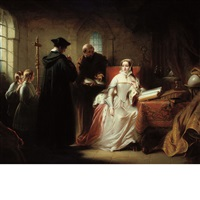 lady jane grey with dr. john feckenham by charles robert leslie