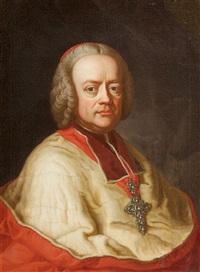 portrait of sigismund christoph graf schrattenbach (1698-1771), archbishop of salzburg by german school (18)