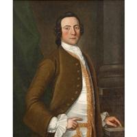 portrait of lynford lardner by john hesselius