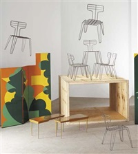 dining chairs (set of 8) by tom dixon