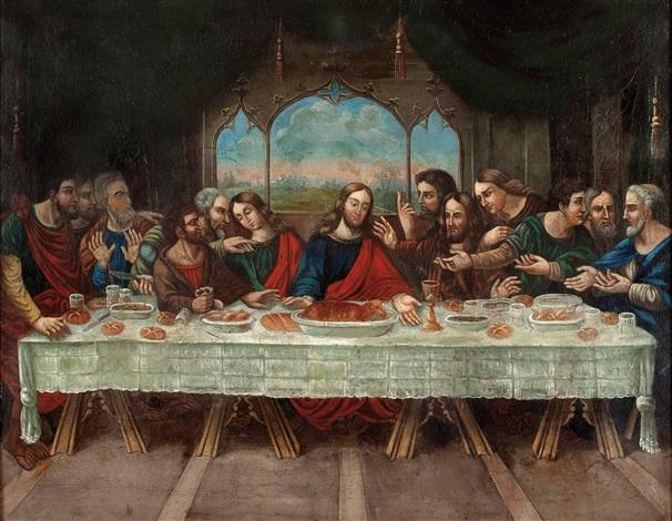 Leonardo Da Vinci Letztes Abendmahl
