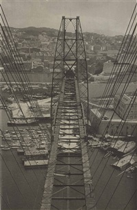 pont transbordeur, marseilles by herbert bayer