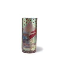 vase mit südlicher landschaft by zsolnay