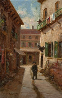 ross alley by charles albert rogers