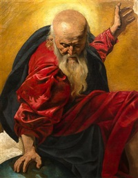 the creator by michelangelo merisi da caravaggio