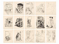day & dream (portfolio of 15) by max beckmann