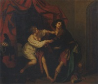 joseph and potiphar's wife by v. bianchini