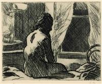 the open window by edward hopper