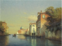 venice by twilight by noel georges bouvard