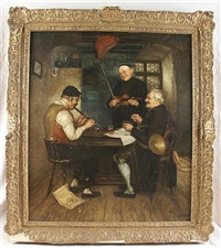 three musicians by lucia mathilde von gelder