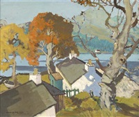 the croft and shore cottage, loch long by violet mcneish kay